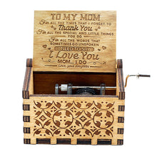 You Are My Sunshine Engraved Music Box - Mom & Daughter/Son Gift
