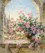 "VanGo Painting By Numbers - Pink Roses (16""x20"" / 40x50cm)"