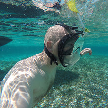 Full Face Snorkeling Mask - Supports GoPro