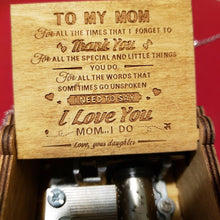 [Top-Selling] You Are My Sunshine Handcrafted Music Box - Daughter to Mom Gift