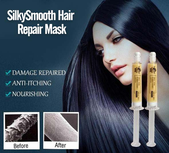 SilkySmooth Hair Repair Mask (1 Box)