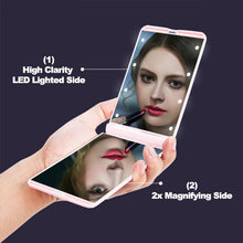 GlamUp - LED Compact Mirror