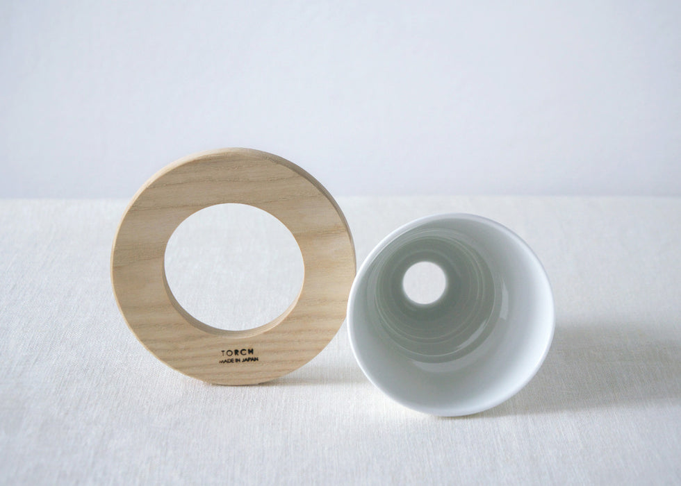 TORCH Donut Dripper white