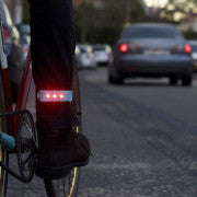 Wearable bike light -Two Wheel Cool