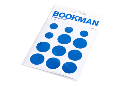BOOKMAN Sticky Reflectors Blue