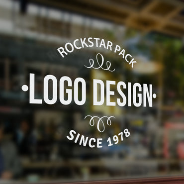 The Rockstar Pack logo design package