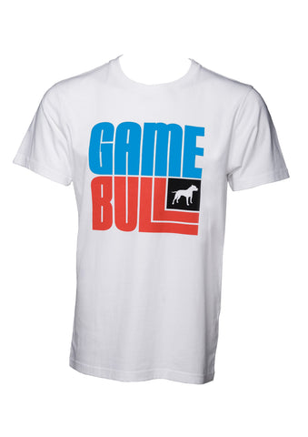 Blue Game White Logo T-Shirt