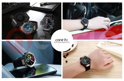 Wear it your style- Core H2 Smartwatch