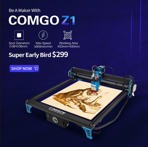 comgrow z1 laser engaver