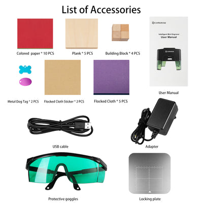 mini laser accessories items