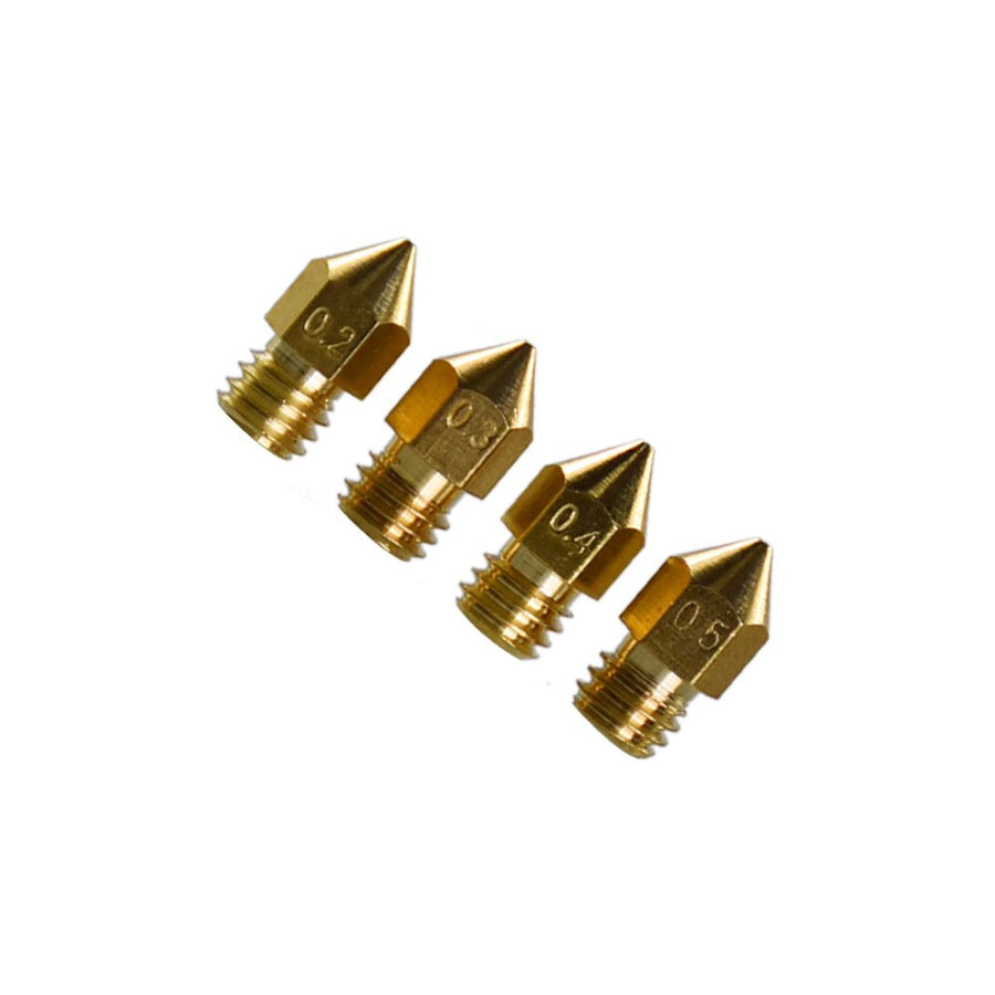 3D Printer Exruder Nozzle 0.2mm 0.3mm 0.4mm 0.5mm