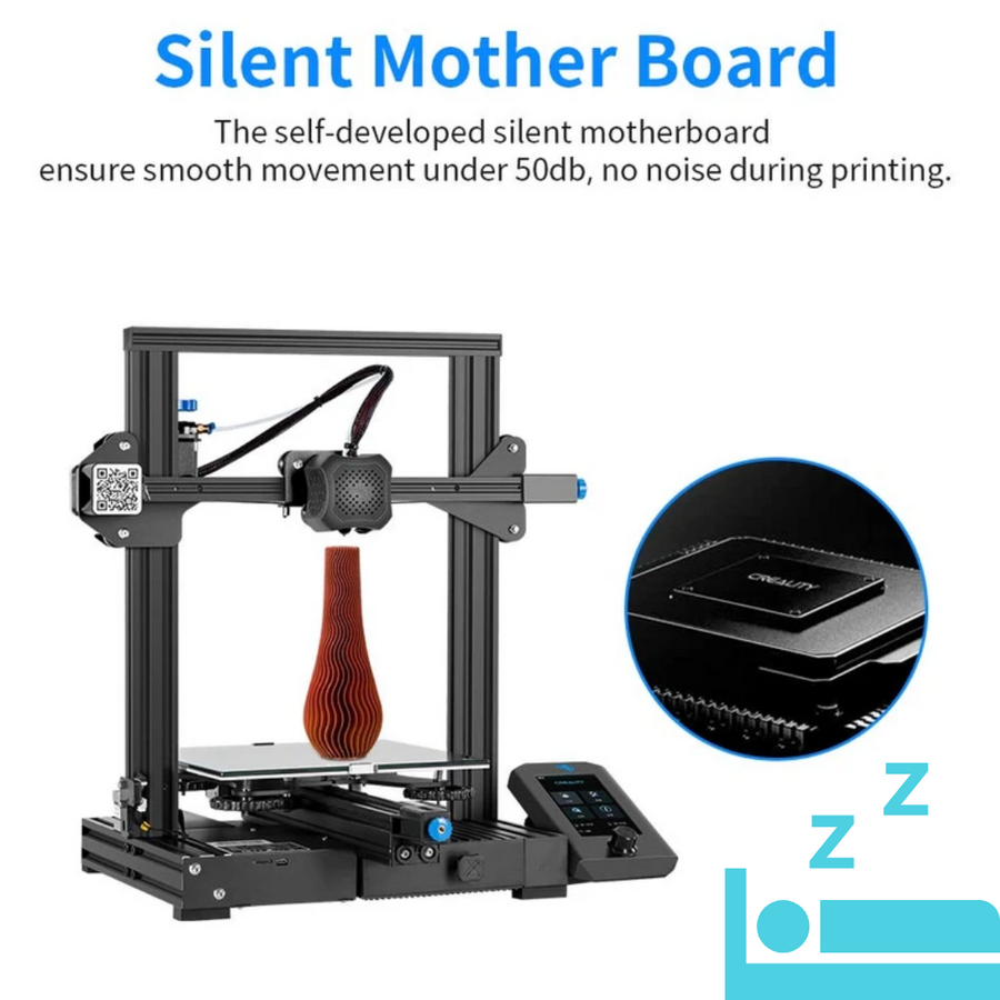 creality Ender-3 v2 with xy axis tensioner full color screen and tmc2208 drive