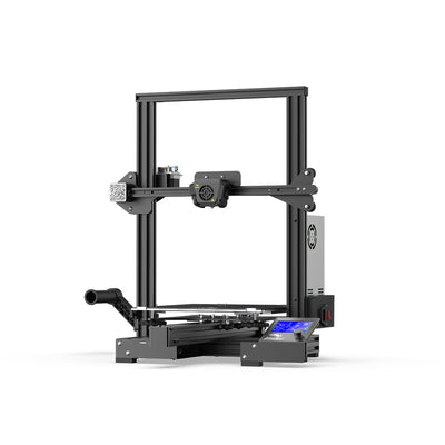 Ender-3 Max right front side with control screen boot up