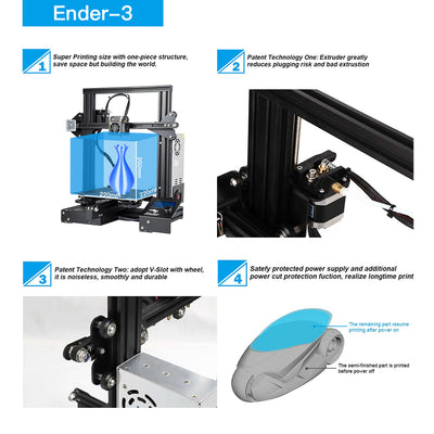 ender-3 four key feature