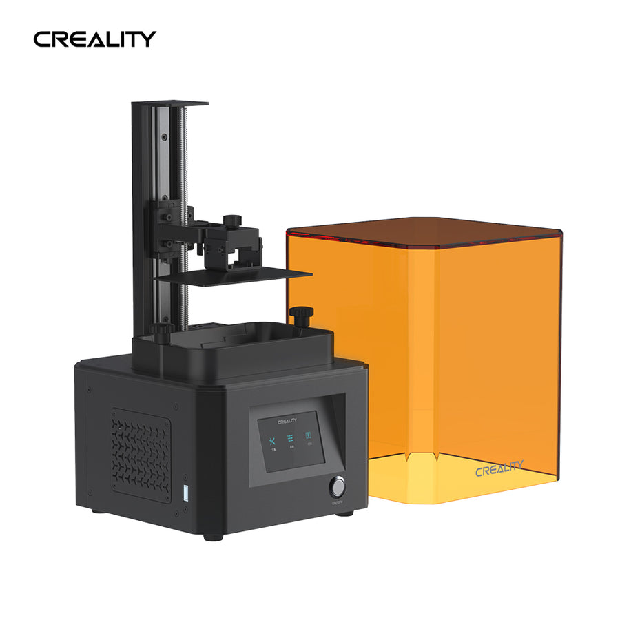 Creality LD-002R resin 3d printer with perforated print plate, quick leveling and air filter