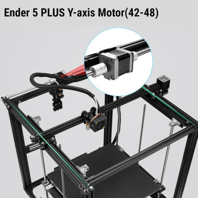 42-48 Dual Shaft Stepper Motor For Ender 5 PLUS