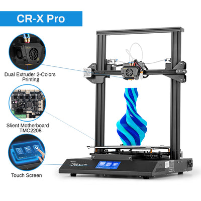 Creality Comgrow CR-X Pro Upgraded 3D Printer Dual-Color