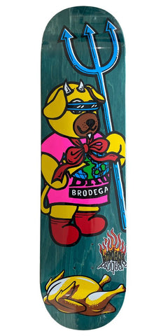 "Brodega - Tøjdyr PS 8,5"" deck"
