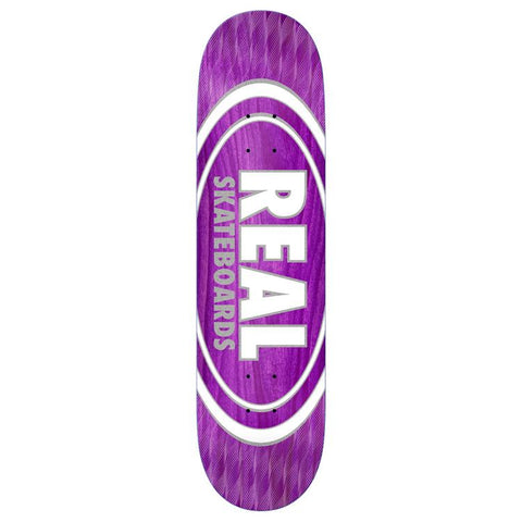 "Real - Oval Pearl Patterns 8,5"" deck"