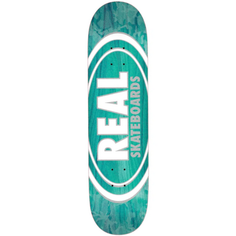 "Real - Oval Pearl Patterns 7,75"" deck"
