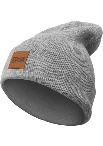 Urban Classics - Leatherpatch Beanie