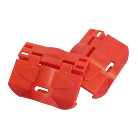 2 MEGGER CARRY CASE CLIPS FOR MULTIFUNCTION TESTERS