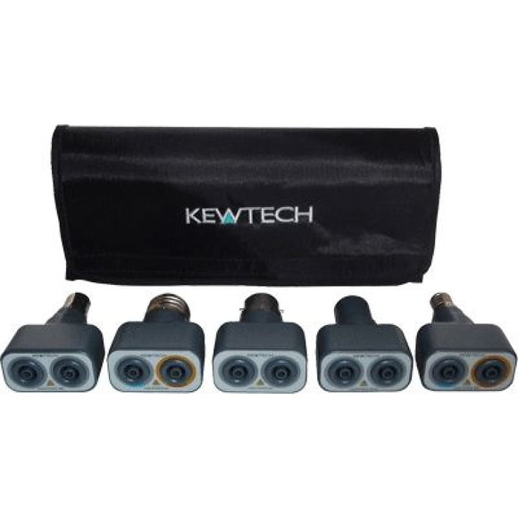 KEWTECH LIGHTMATEKIT LIGHTING CIRCUIT ADAPTORS, KIT OF 5 LIGHTMATES