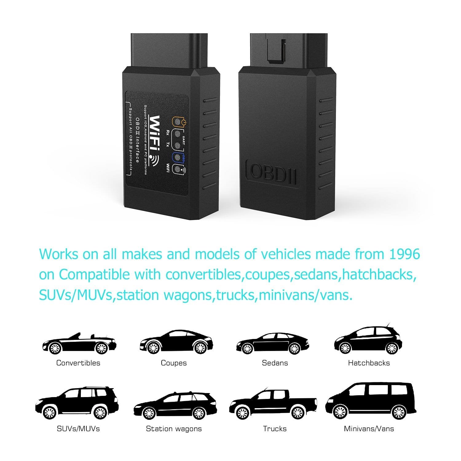 OBD2 Work on all Vehicle Types