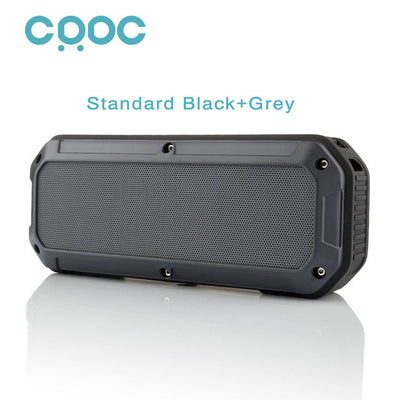 CRDC™ Water Resistant Bluetooth Speaker (Play up to 16 hours of Music)