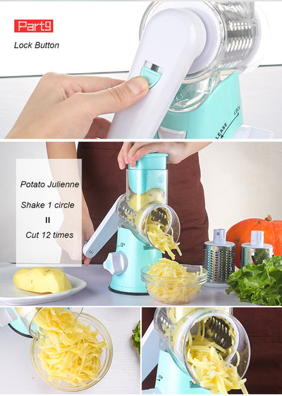 3-in-1 Multipurpose Kitchen Slicer