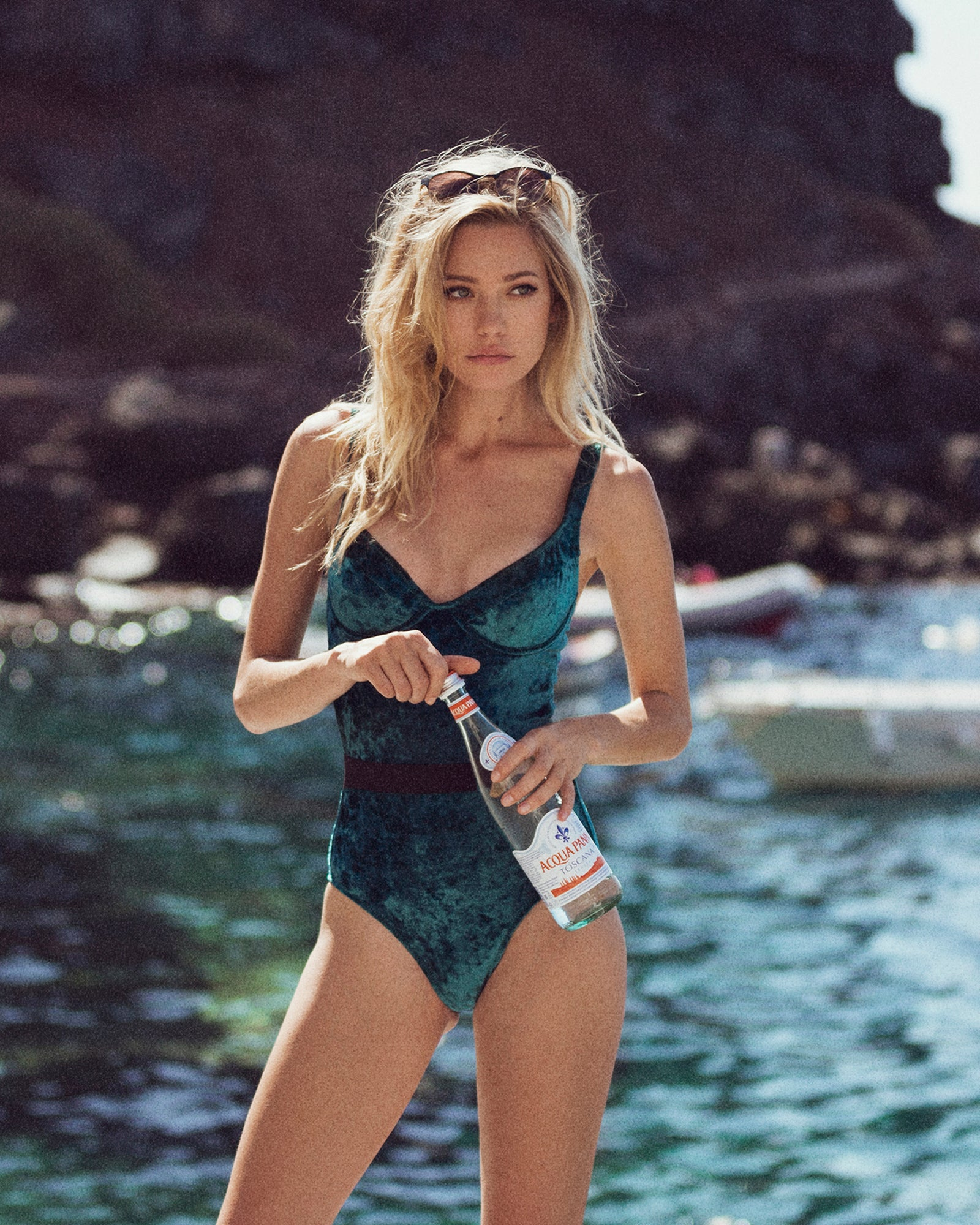 Luxe Velvet Maria One Piece