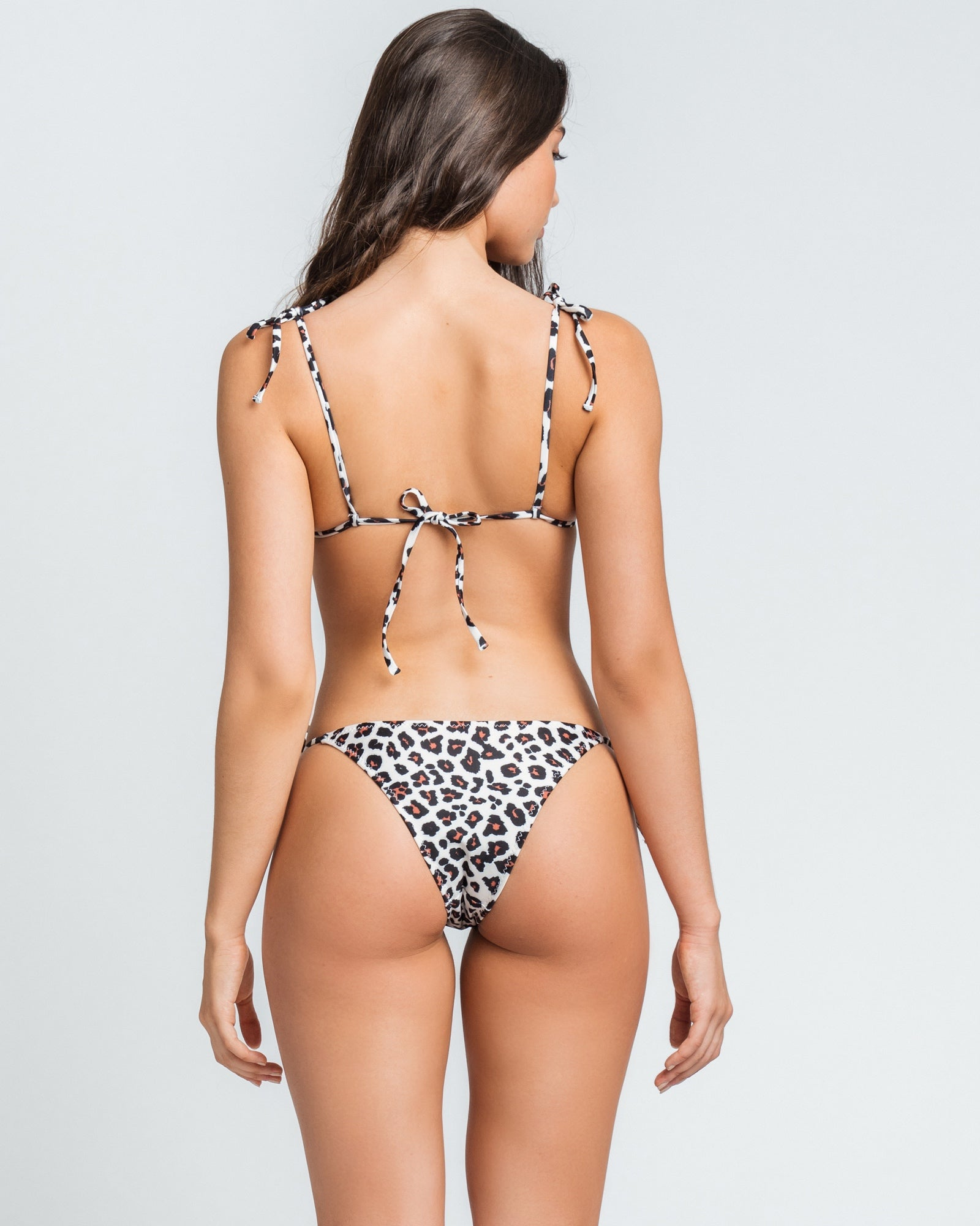 Leopard Nat Tri Top