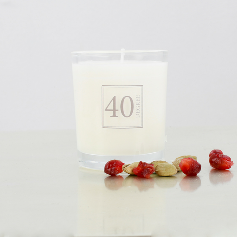 Pomegranate Spice Travel Candle