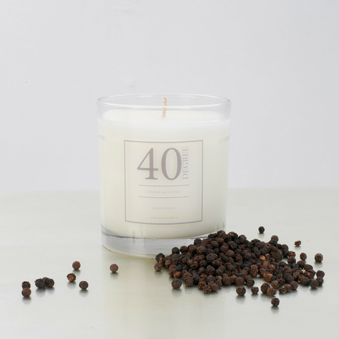 Cognac & Leather Candle