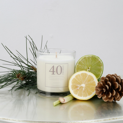 Lemongrass, Lime & Eucalyptus Candle