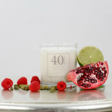 Pomegranate Spice Candle