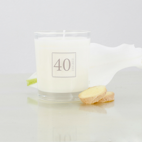 Ginger & White Lily Travel Candle