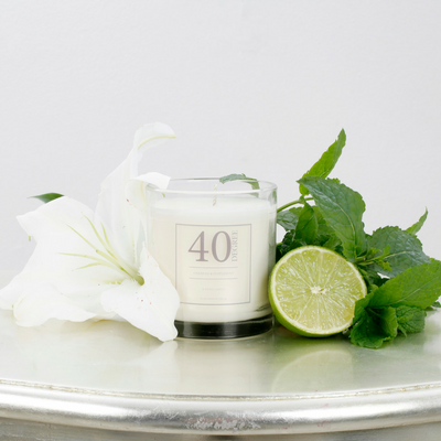 Oakmoss & Peppermint Candle