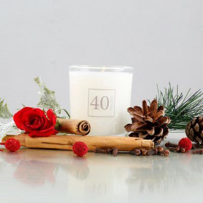 Oud & Velvet Rose Candle