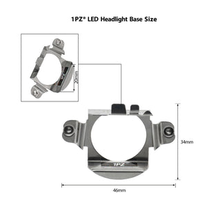 H7 LED Headlight Bulb Holder Adapter Retainer Clip for Mercedes Benz Volkswagen
