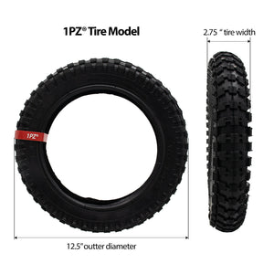12.5 x 2.75 Tire & Inner Tube Mini Dirt Rocket Pocket Bike Electric Gas Scooters