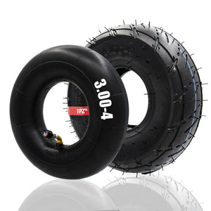 "Heavy Duty 10"" x 3"" 3.00-4 Tire & Inner Tube 260x85 Super Gas Electric Scooters"