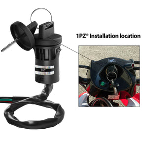 ATV Key Ignition Switch 4 Wire 50 70 90 110 125 150 200 250cc TaoTao SUNL Kazuma