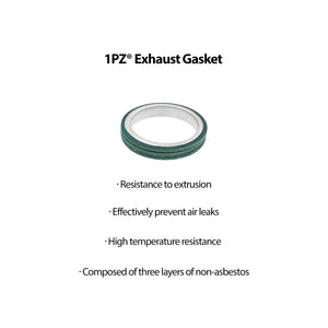 Exhaust Bolt Gasket For GY6 50 70 90 110 125 150cc QMB139 Scooter ATV 4 Wheeler