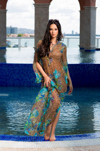 Caribbean Beauty Kaftan