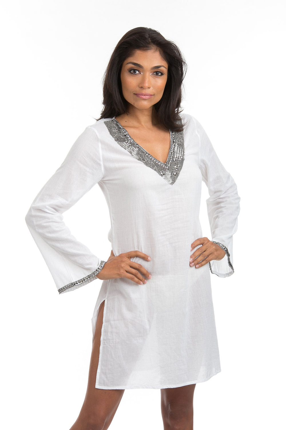 Cotton Inspiration Tunic White
