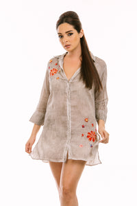 Floral Flair Tunic