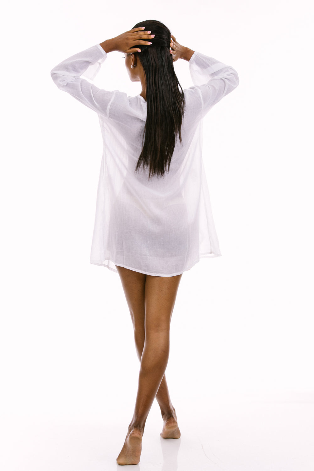 Simply White Tunic back