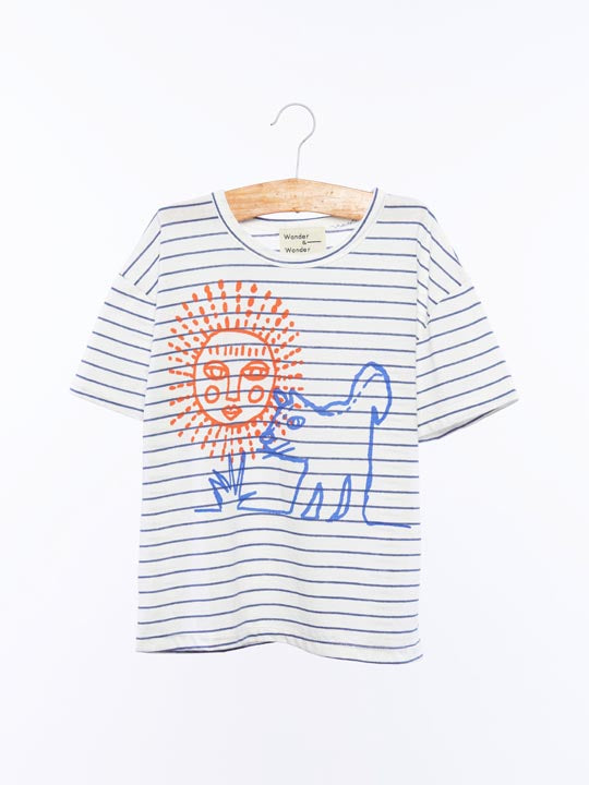 Sun and the Dog Tee