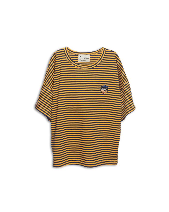 STRIPE BADGE TEE
